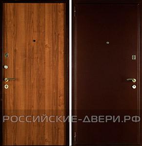 металлические двери эконом отделка ламинат эконом