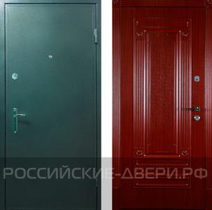 купить стальную теплую дверь