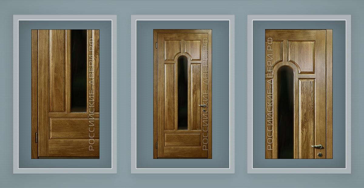 металлические двери с зеркалом для котельной