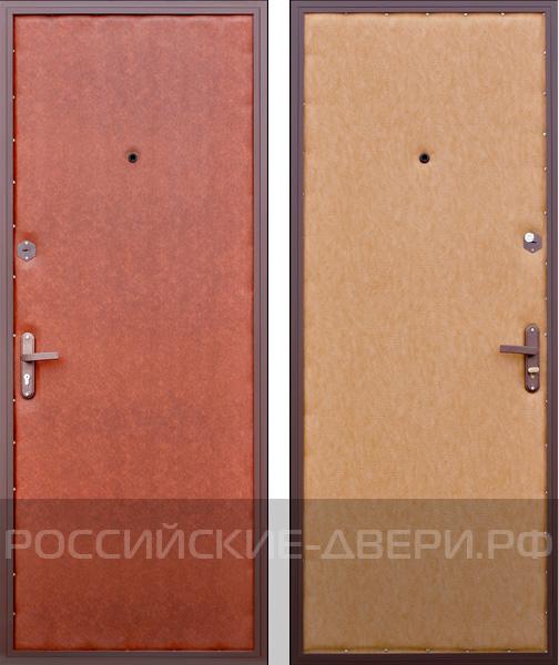 металлические двери с дубовой отделкой цена